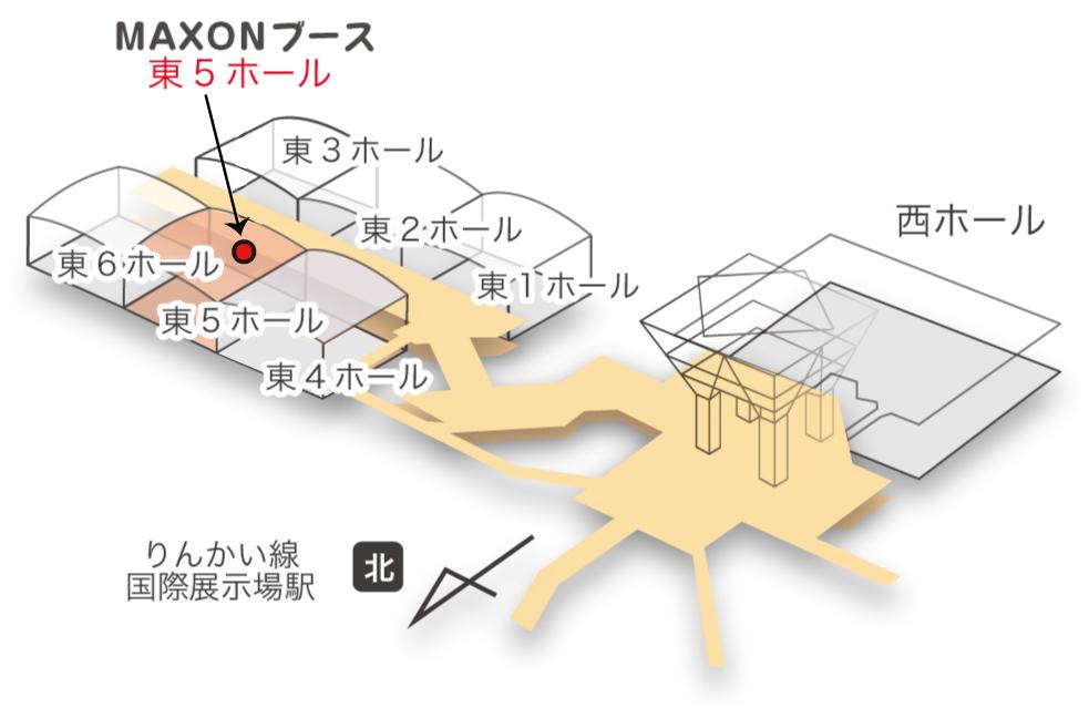 東京ビックサイト地図
