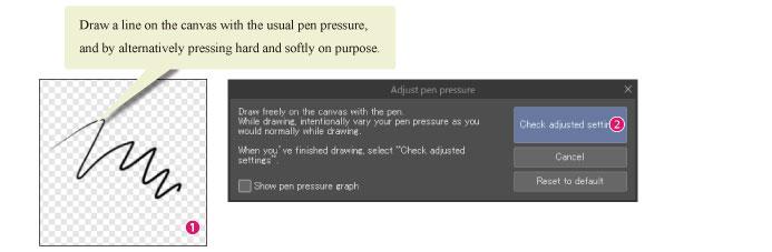 CLIP STUDIO PAINT Instruction Manual - Pen Pressure Settings