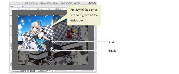 CLIP STUDIO PAINT Instruction Manual - Change Canvas Size