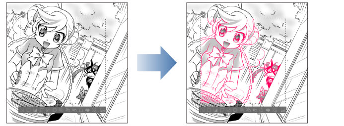 CLIP STUDIO PAINT USER GUIDE - Change color of line to drawing