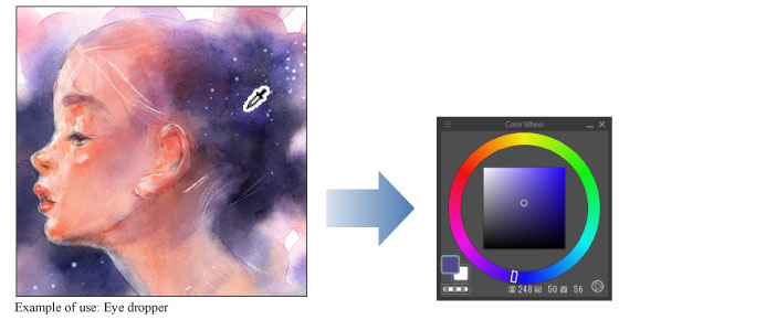 Clip Studio Paint Instruction Manual Eyedropper Tool